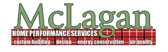 Logo-McLagan, Home Performance Services, custom building, design, energy conservation, air quailty